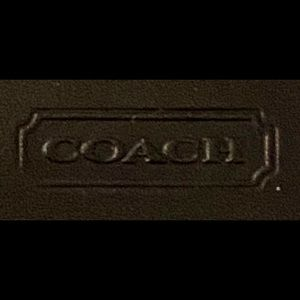 Coach large sized wallet
